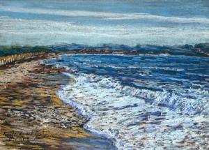 la vague, route du sel