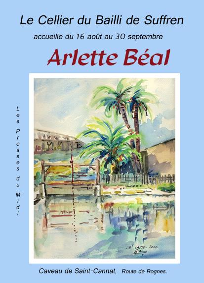 Le Cellier du Bailli de Suffren accueille le peintre Arlette Béal à Saint-Cannat