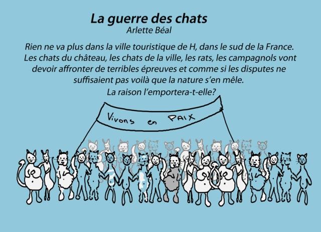 """""""La guerre des chats"""" de Arlette Béal édité par les Presses du midi"""