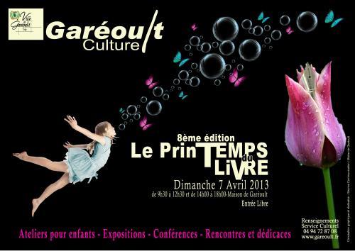 Arlette Béal sera présente au Printemps du livre de Garéoult