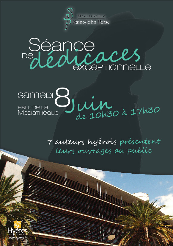 Arlette Béal sera en dédicace samedi 8 juin à la médiathèque de Hyères