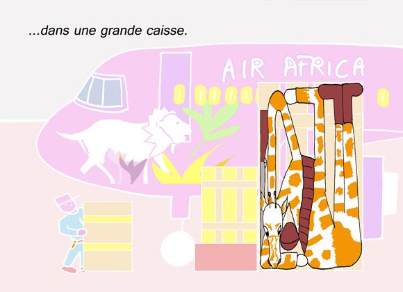 """""""Cache-toi, Girafe"""", un album pour les petits créé par Arlette Béal, édité par les Presses du Midi"""
