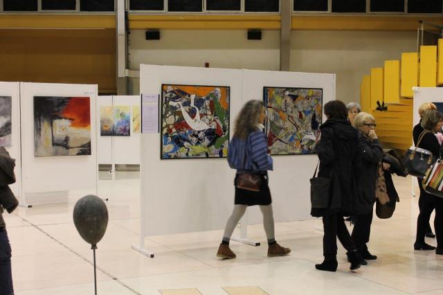 "Vernissage ""Talents de femmes 2014"" à La Garde"