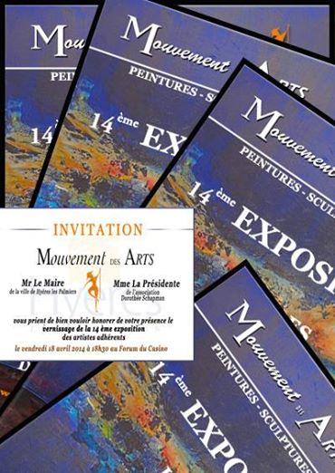 Exposition du Mouvement des Arts 2014 à Hyères.