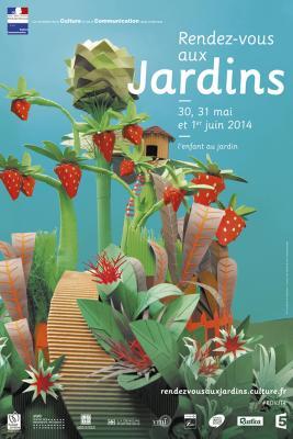 Arlette Béal participe aux Rendez-vous aux Jardins Olbius Riquier à Hyères 2014
