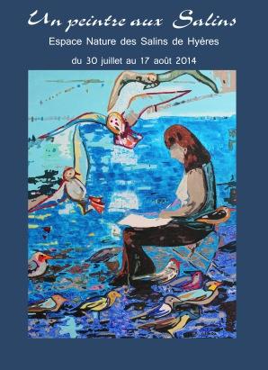 Exposition aux Salins de Hyères du 30juillet au 17 août 2014. Conservatoire du  littoral.