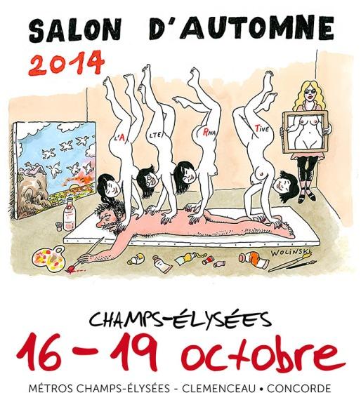 Arlette Béal sera présente au Salon d'Automne -Paris-2014