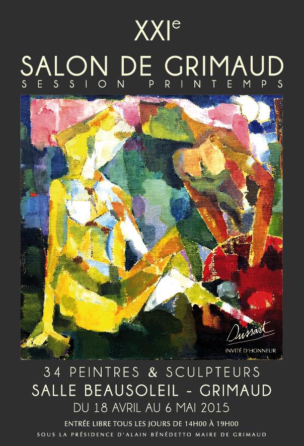 XXI Salon de Grimaud session Printemps 2015-affiche