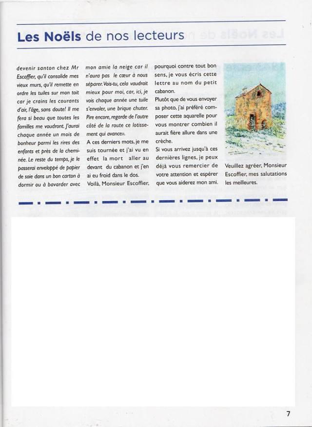 Le cabanon qui rêvait d'être un santon. Conte de Noël. Arlette Béal. Editions Les Presses du Midi. Publication dans le Mag de décembre 2016 par Var Matin.